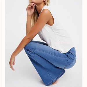 Free People pull up flares